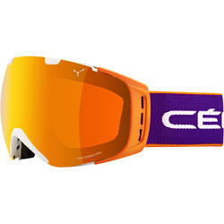 Ochelari de ski pentru adulti Cebe Origins Large Pro Purple/Orange Flash Fire