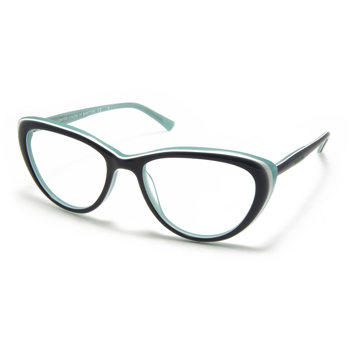 Rame ochelari vedere dama UNITED COLORS OF BENETTON BN334V02 blue de la United Colors of Benetton