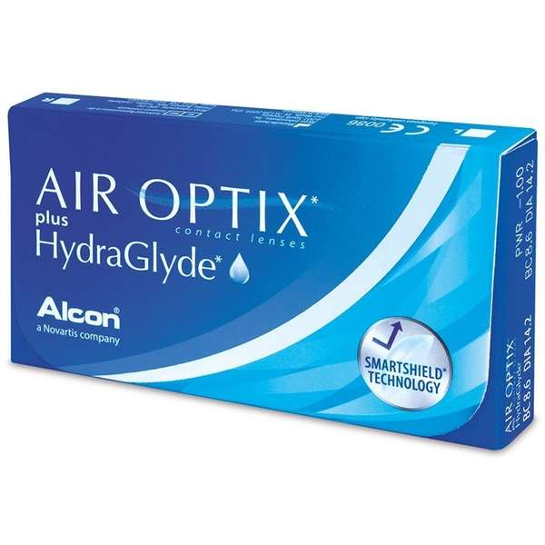 Alcon / Ciba Vision Lentile contact Air Optix plus HydraGlyde 3 lentile / cutie