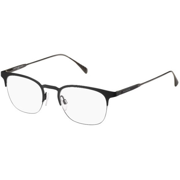 Tommy Hilfiger Rame ochelari de vedere unisex TOMMY HILFIGER (S) TH1385 QFW BLACK