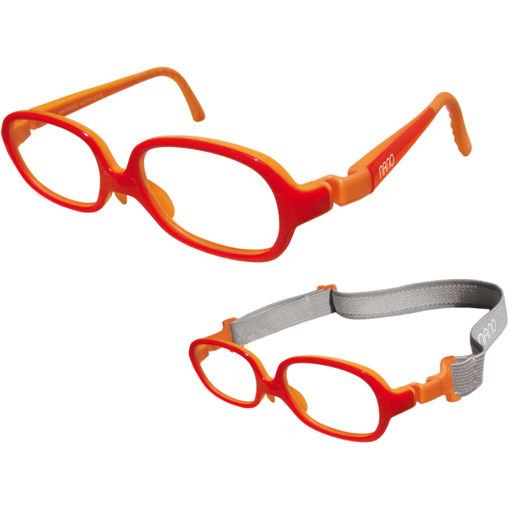 Rame ochelari de vedere copii Nano Kids NAO58342 RED/ORANGE de la Nano Vista