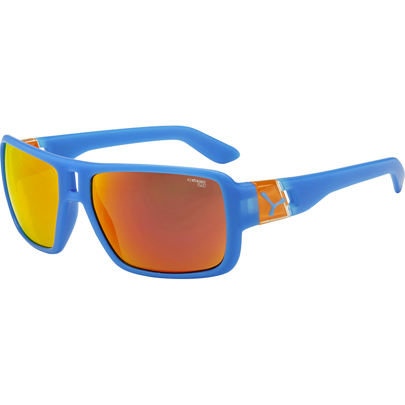 CEBE Ochelari de soare unisex Cebe LAM MATT BLUE ORANGE 1500 GREY FM ORANGE