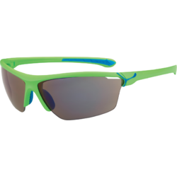 Ochelari de soare sport barbati Cebe CINETIK MATT GREEN 1500 GREY FLASH BLUE + CLEAR + YELLOW