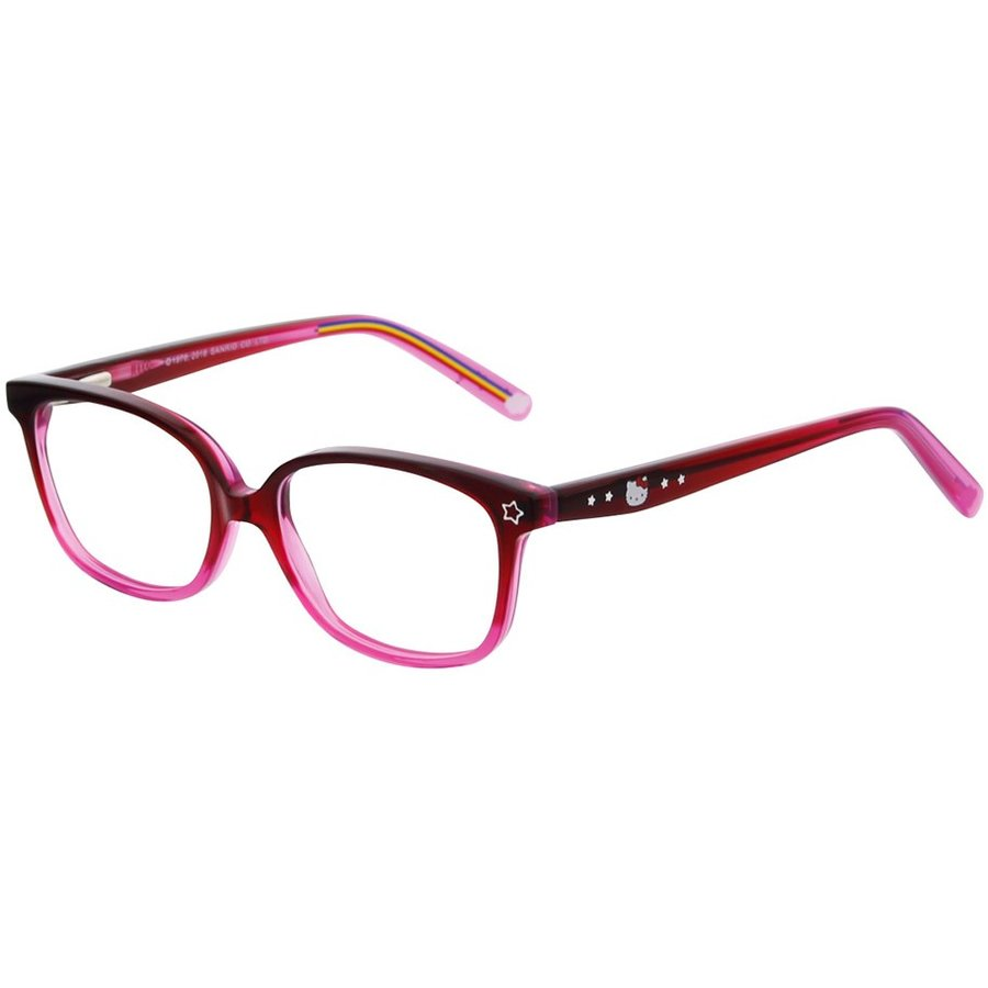 Hello Kitty Rame ochelari de vedere copii HELLO KITTY HK AA093 C12 DARK PINK