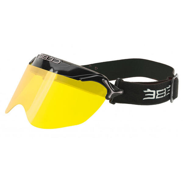 Ochelari de soare sport barbati Cebe CBPURS2 PURSUIT Racing Black  Yellow Flash Mirror Cat.1