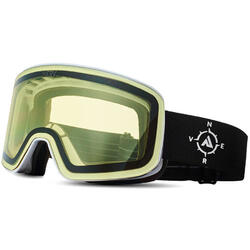Ochelari de ski NERV COMPASS WHITE BLACK YELLOW