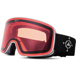 Ochelari de ski NERV COMPASS WHITE BLACK ROSE